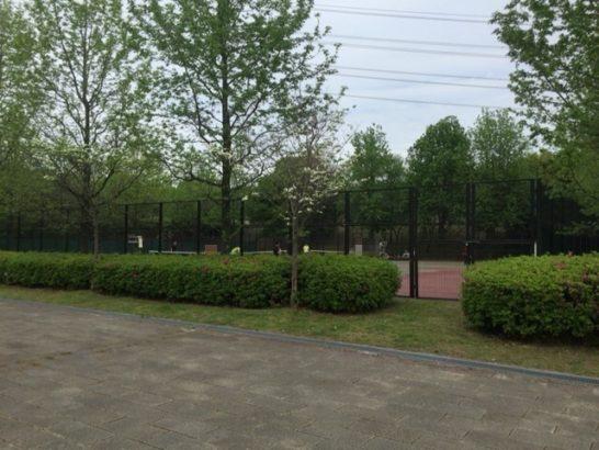 深北緑地 テニス場
