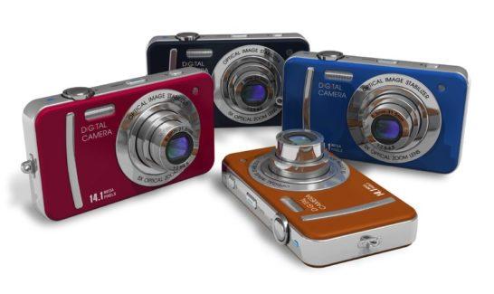 コンパクトデジタルカメラ比較