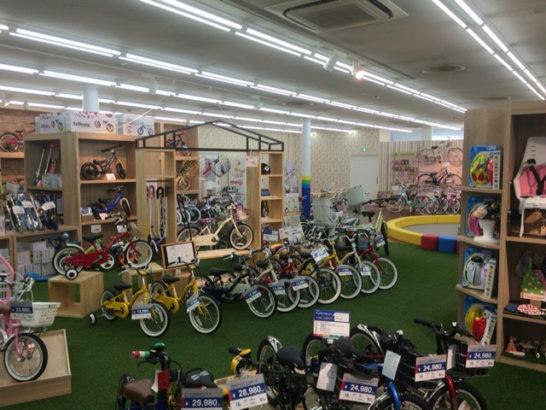 自転車売り場1