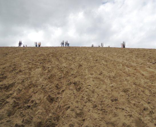 砂丘昇り2