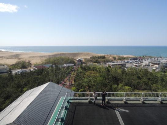 砂丘展望台