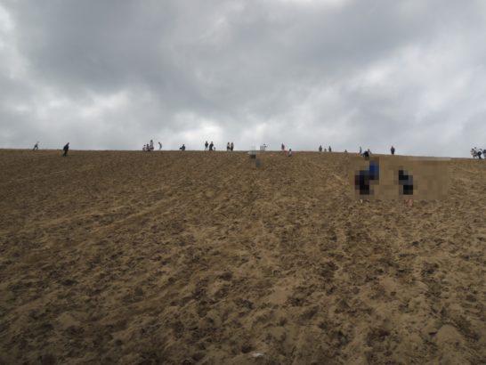 砂丘昇り1
