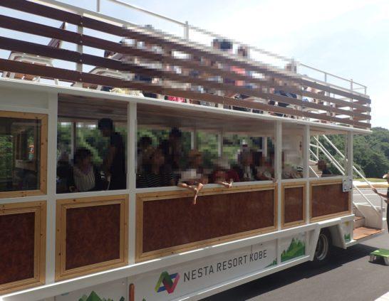 ネスタリゾートホテルプール行バス2