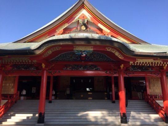 成田山本殿
