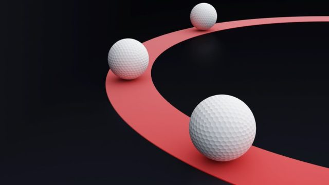 スライス ゴルフ